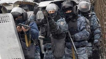"""Berkut"", the Ukranian special police force"
