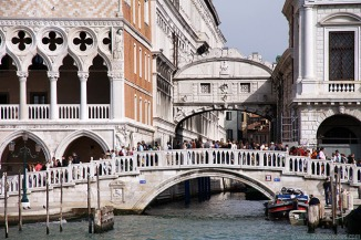 Ponte dei Sospiri or the Bridge of Sighs